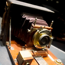 Antique Camera by Norman Tan - Artistic Objects Antiques ( still life, camera, artistic, lens, antique,  )