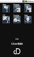 Screenshot of SilverEdit Lite