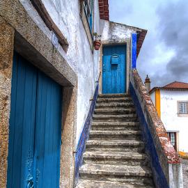 Stairs by Carlos Pereira - City,  Street & Park  Street Scenes