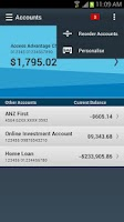 Screenshot of ANZ goMoney Australia