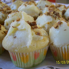Miniature Guilt Free Maple Coconut Cupcakes