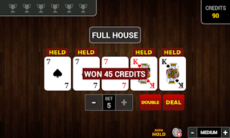 Screenshot of Video Poker PRO