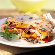 Roasted-Vegetable Lasagna