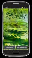 Screenshot of islamic sobhan allah wallpaper