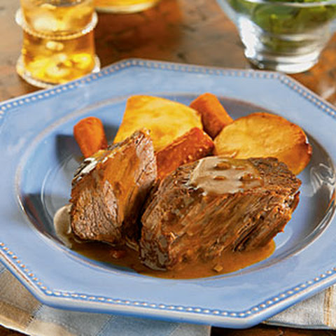 Slow Cooker Savory Pot Roast
