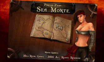 Screenshot of Pirates Fight: Sea Monte