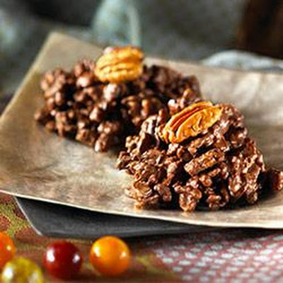 Chocolate Pecan Clusters