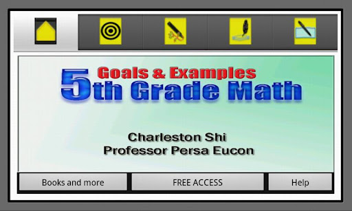 5th Grade Math Goals Examples