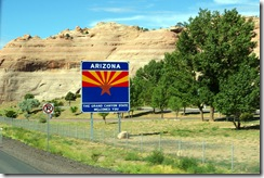 Entering Arizona