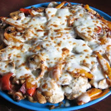 Grilled Chicken Pepper Melts