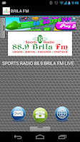 Screenshot of BRILA FM