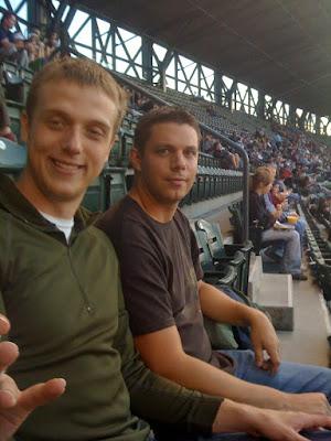 Mark & I