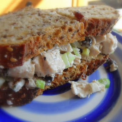 *Tasty Chicken Salad Sandwich*