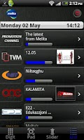 Screenshot of Melita netbox HD control