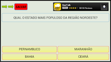 Screenshot of Show do Milhão Kids