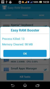 Speed Booster Task killer 2015 - screenshot