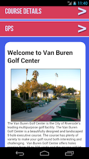 Van Buren Golf Center - screenshot