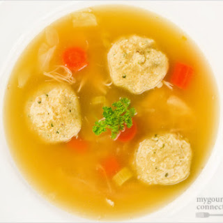 Matzo (Matzah) Ball Soup