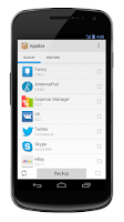 Screenshot of AppBox Free (App Backup)