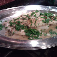 Pan-Sautéed Rockfish With Capers