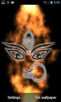 Screenshot of Durga Ma Free Live Wallpaper