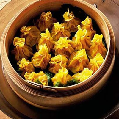 Steamed Pork & Prawn Wontons