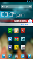 Screenshot of MetroBars (For Zooper Widget)