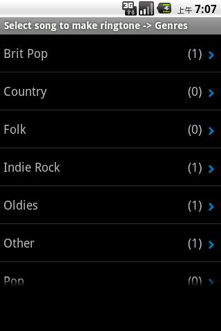 ringtone-maker for android screenshot