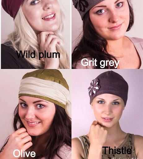Soft silk hat colours