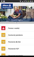 Screenshot of Allianz – Slovenská poisťovňa