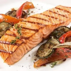 Balsamic and Rosemary Grilled Salmon