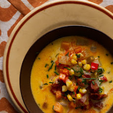 Cheesy Corn Chowder