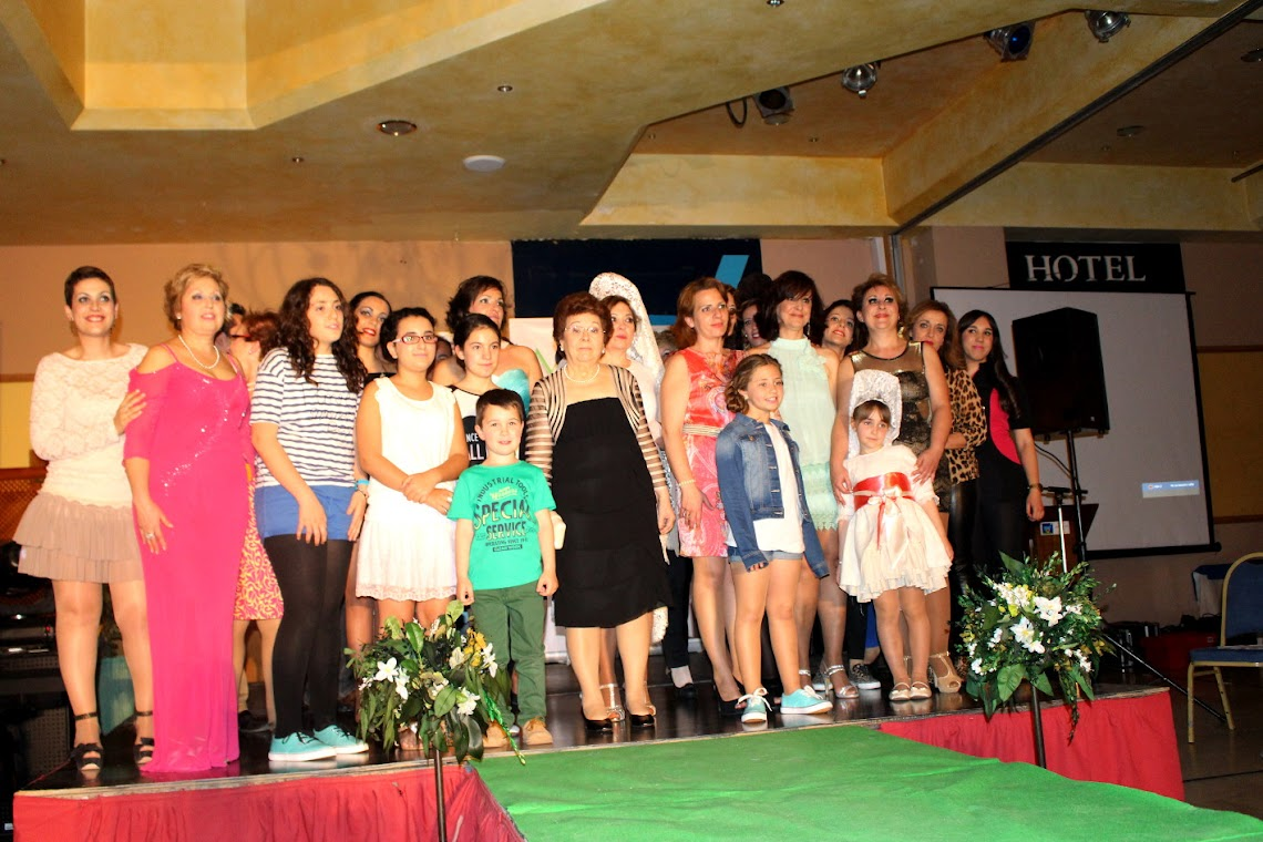 GREAT TURN OUT AT THE 5TH SOLIDARITY FASHION SHOW FOR WOMEN WHO HAVE UNDERGONE MASTECTOMIES, HOSTED AT HOTEL ANTEQUERA
