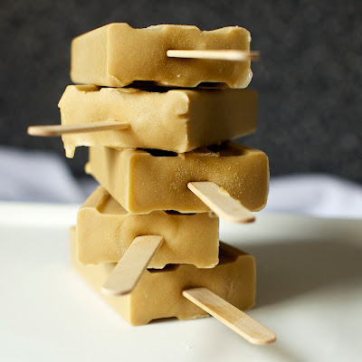 Butterscotch Pudding Popsicles