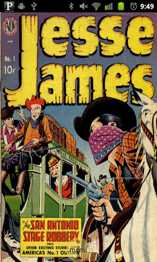 Jesse James Comic Book 1