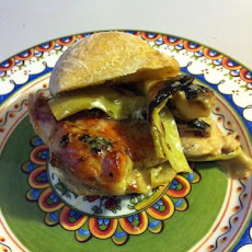 Chicken Artichoke Sliders