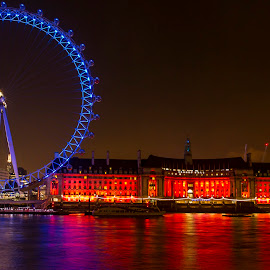 london eye by Ronnie Rahman - Buildings & Architecture Public & Historical