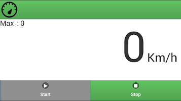 Screenshot of Speed Meter