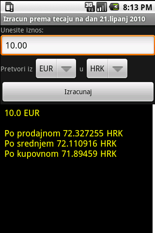 HNB exchange rate