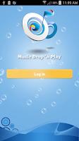 Screenshot of Music Drop 'n Play for Dropbox