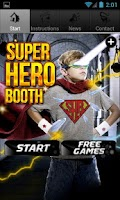 Screenshot of Super Hero Booth Free