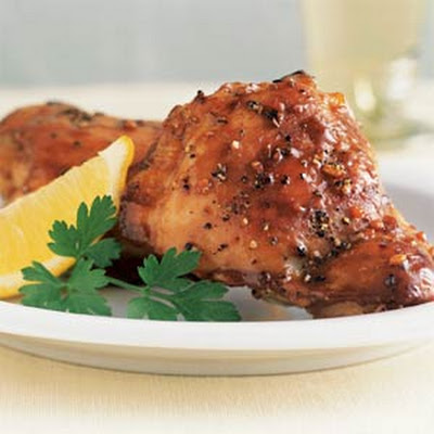 Lemon-Garlic Chicken Thighs