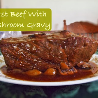 Roast Beef With Mushroom Gravy Recipes