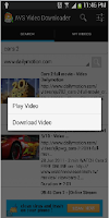 Screenshot of AVS Video Downloader