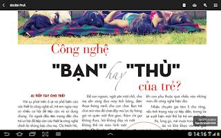 Screenshot of Đọc Báo & Tạp Chí - sapbao.com