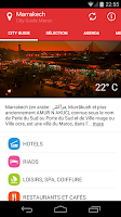 Screenshot of City Guide Maroc Marrakech
