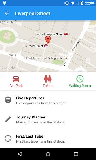 London Tube Live Pro - screenshot