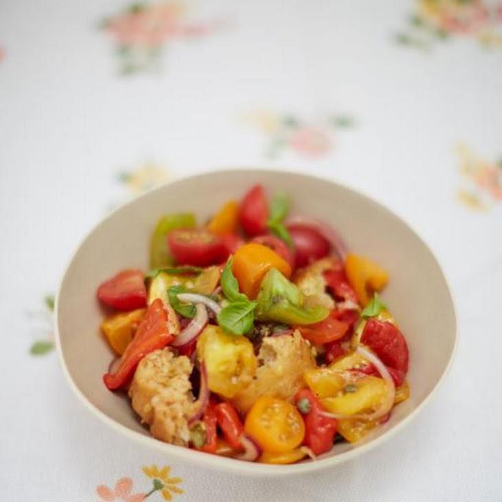Panzanella (Tuscan tomato & bread salad) Recept | Yummly