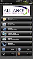 Screenshot of Alliance Catholic Credit Union