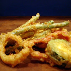 Beer Battered Fried Vegetables
